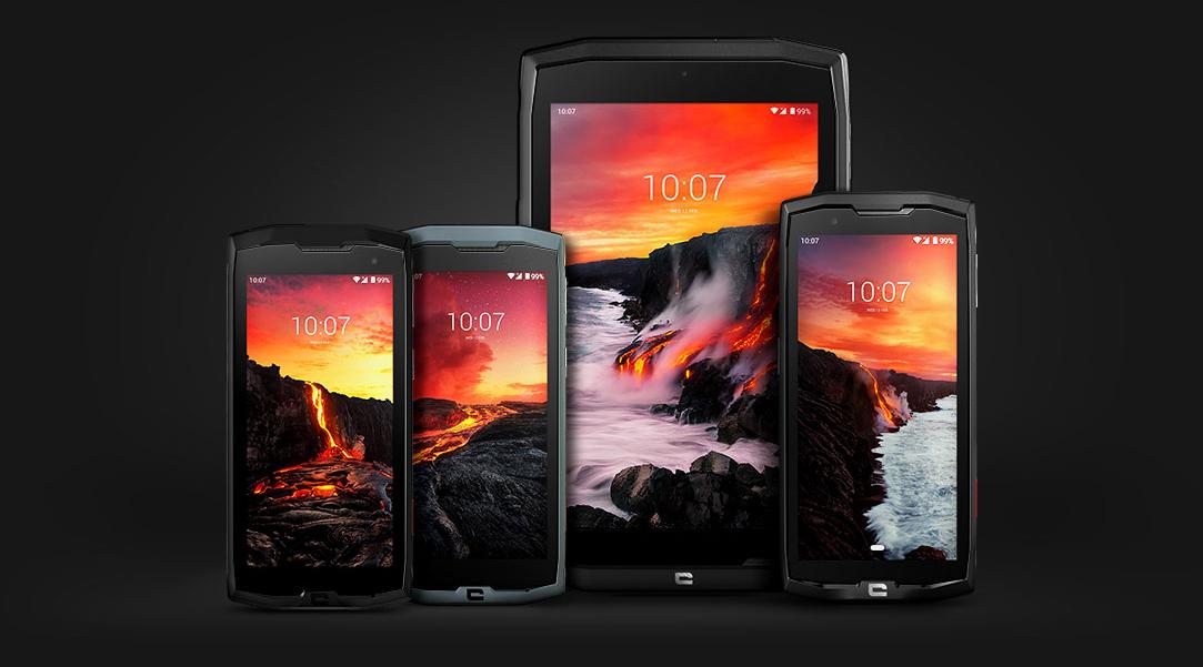 Crosscall Gamme CORE - Smartphones et tablettes étanches et résistants