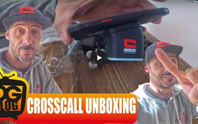 Unboxing CROSSCALL accessories by Cédric Gracia