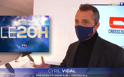 CROSSCALL AU 20H DE TF1